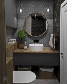 5 clever ideas to prepare the nursery Washroom Design, Bathroom Design Luxury, Modern Bathroom Decor, Rustic Bathrooms, Bathroom Design Small, Interior Design Kitchen, Bad Inspiration, Bathroom Inspiration, Small Full Bathroom