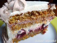 Sweet Rainbow: [AUS DER KÜCHE] Kirsch-Rübli-Torte #ichbacksmir #torte