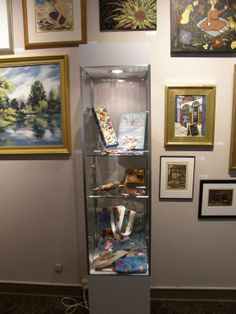 Art for sale at Main Street Gallery.