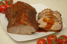 Pieczona karkówka w pysznej marynacie :: A dupa rośnie... ;) :: Przepisy kulinarne Steak, Curry, Pork, Beef, Kale Stir Fry, Meat, Curries, Steaks, Pork Chops