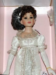 """Empress Kitty 18"""" Kitty Collier doll Tonner NRFB* 2004 Gorgeous period doll (12/12/2011)"""