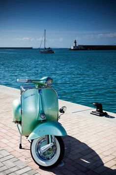 Vespa is a handy scooter for anyone who wants an alternative means of getting around