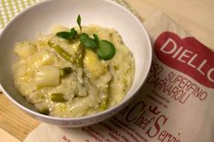 Spargelrisotto / asparagus risotto