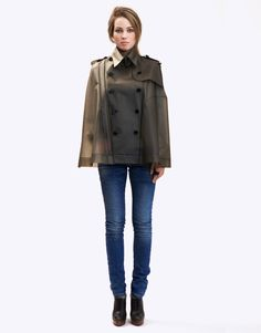 Designer Raincoats: Find Designer Raincoats at TerraNewYork — Nolita / Smokey Grey