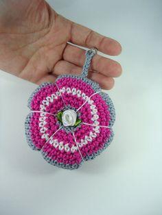 Porta-Chaves em crochê acessório chaves  Forma by NikitasStore
