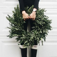 Best Holiday Wreaths for the front door