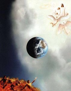 About the fate of the kingdom of heaven or hell into the Earth that Determines the Fate of Heaven and Hell Spiritual Warrior, Spiritual Warfare, Bible Pictures, Prophetic Art, Jesus Is Coming, Biblical Art, Armor Of God, Heaven And Hell, Foto Art