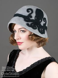 Goth Shopaholic: Goth Shop of the Week: Boring Sidney - Milliner in Seattle