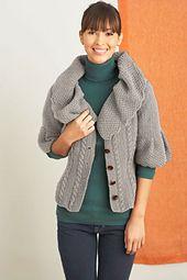 Ravelry: Dressmaker Detail Cardigan pattern by Lion Brand Yarn
