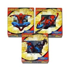 TRACE 3 spider man puzzles, not as pictured