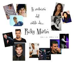 """Ricky Martin portada"" by nuny-2 on Polyvore featuring Volver, men's fashion y menswear"