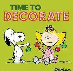 Time to decorate!