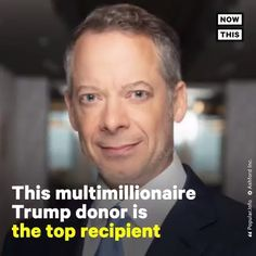 """NowThis on Twitter: """"This multimillionaire Trump donor is the #1 recipient of the government's small business relief loan… """" Left Wing, Right Wing, Economics 101, Real Life, Believe, Politics, Tech, Facts, Shit Happens"""