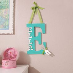 How To Make a Kid's Room Monogram | CraftCuts.com