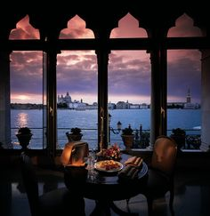 Drift into a dream world as you gaze through Belmond Hotel Cipriani's gothic windows across the Venetian lagoon to St Mark's.