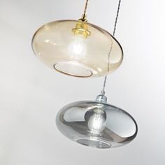 [New] The 10 Best Home Decor Ideas Today (with Pictures) - Stunning hanging pendant is made of metal frame and transparent blown glass diffuser with smoked or amber finish.Power cable coated with fabric. Interior Styling, Interior Decorating, Ceiling Lamp, Ceiling Lights, Glass Diffuser, Hanging Pendants, Pendant Lamp, House Design, Retro