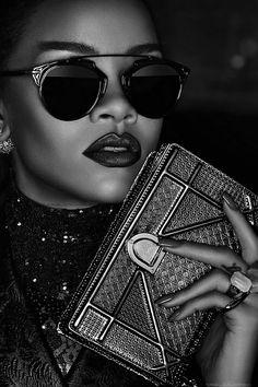 senyahearts:Rihanna by Steven Klein for Dior Secret Garden, 2015