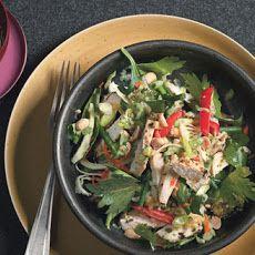 Daikon/cabbage coleslaw ----minus the cilantro of course!