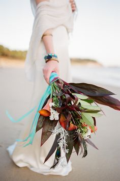 Today we have a shoot to inspire the bohemian bride that isn't afraid of a bit of color! We love the way photographer Eulanda Shead blended the chic simplicity of with bold styling and. Bohemian Bride, The Chic, Bridal Style, Moroccan, Wedding Dresses, Inspiration, France, Color, Bride Dresses