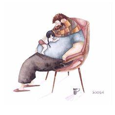 lustradora Snezhana Soosh - ele é sempre quentinho e confortável