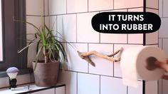 Make awesome driftwood storage with Sugru