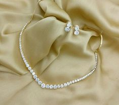 American Diamond Sepal One Line Necklace Set. Rama Creations Manufacturer & Who… American Diamond Sepal One Line Necklace Set. Rama Creations Manufacturer & Wholesaler of Imitation Bridal Jewelery in India.