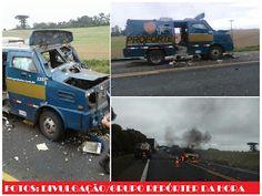 BLOG DO MARKINHOS: Bandidos explodem carro-forte na BR-476 na Rodovia...