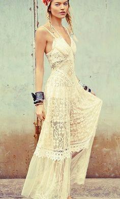 White lace. Beauty. #boho