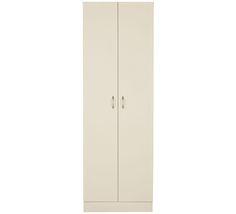 Oto  2 Door Pantry L 60cm x D 40cm x H 180cm $139 Pantry Cupboard, Cupboard Storage, Storage Room, Value Furniture, Bed Furniture, Doors, Home Decor, Pantry Room, Bedroom Furniture