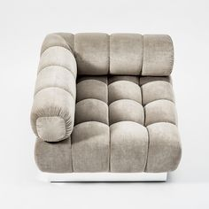 Todd Merrill Custom Originals, the Classic Tufted Sectional, USA, 2015 | From a unique collection of antique and modern sectional sofas at https://www.1stdibs.com/furniture/seating/sectional-sofas/