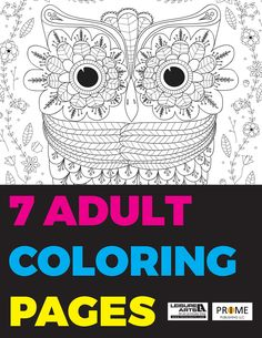 Coloring is a wonderful stress-reliever! Print out these coloring pages at home and spend an afternoon coloring your own intricate masterpiece. This printable coloring book will be your favorite go-to craft.