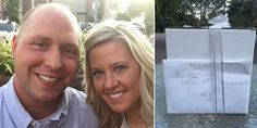 Meet The Couple Who Waited 9 Years To Open These Wedding Gifts Whatsapp / Call 2349034421467 or 2348063807769 For Lovablevibes Music Promotion A couple in Michigan waited nine years to open one of their wedding gifts and what they found taught them a profound lesson about marriage and living together. Kathy Gunn who shared the story on Facebook and her husband Brandon were instructed by a relative known as Aunt Allison not to unwrap the present until their first disagreement. Aunt Alli...