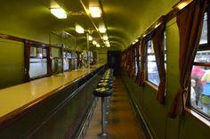 Swindon Steam Museum: Railcar No.4.  Dining car
