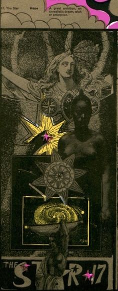 Martin Sharp's psychedelic tarot cards from 1967 | Dangerous Minds