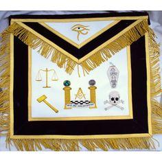 Masonic Apron, Master Mason Apron, Masonic Officer Aprons, Best Masonic Seller, Masonic Supplies, Masonic Supply Stores, Masonic Regalia, Masonic Emblems, Freemason Apron