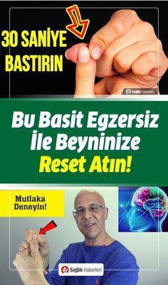 Bu Basit Egzersiz 30 Saniyede Beyninize Reset Atacak - picture for you Brain Structure, Sports Activities, Feel Tired, Reflexology, Natural Healing, Good To Know, Natural Remedies, Einstein, Health Fitness