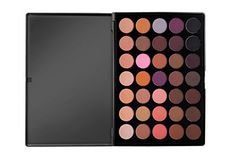Morphe Pro 35 Color Eyeshadow Palette Warm - Professional matte powder makeup palette with intense pigment Matte Eyeshadow Palette, Makeup Palette, Eyeshadow Makeup, Eyeshadows, Morphe 35t, Warm Colour Palette, Matte Powder, Thing 1, Makeup Essentials