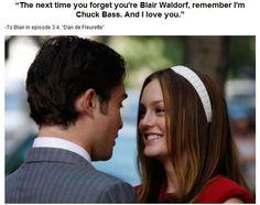 My favorite Gossip Girl quote EVER. :))))
