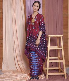 Kebaya Modern Dress, Kebaya Dress, Batik Kebaya, Batik Dress, Muslim Fashion, Ethnic Fashion, Hijab Fashion, Womens Fashion, Baju Kurung Lace