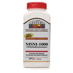 21st Century MSM 1000 mg Maximum Strength, Tablets - http://trolleytrends.com/health-fitness/21st-century-msm-1000-mg-maximum-strength-tablets