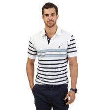 Multi Stripe Performance Deck Polo Shirt - Bright White. Get Sizzling discounts up to 50% Off at Nautica using Coupon and Promo Codes.