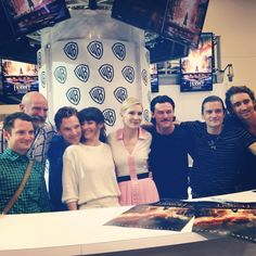 The cast of #TheHobbit at #SDCC! Prettiest cast in the whole world!!