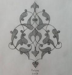 Rumi Eskiz – Fatma Özçay – T-Shirts & Sweaters Islamic Art Pattern, Pattern Art, Persian Motifs, Turkish Art, Islamic Art Calligraphy, Ornaments Design, Pencil Art Drawings, Pottery Painting, Tile Art