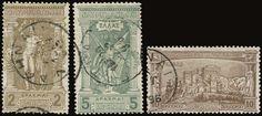 "1896 ""Olympic games"" in complete set of 12 values, u. (Hellas 109/120)."