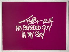No Bearded Guy In My Sky