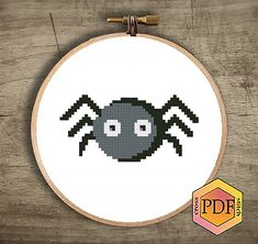 Little Spider Modern Cross Stitch Pattern, Happy Halloween Counted Cross Stitch Chart, Holiday Embroidery Baby, Download Instant PDF Bird Embroidery, Simple Embroidery, Embroidery Patterns Free, Cross Stitch Embroidery, Cross Stitch Tree, Cross Stitch Kits, Cross Stitch Charts, Modern Cross Stitch Patterns, Cross Stitch Designs