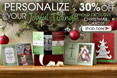 PersonalizationMall is having their Christmas Cards Sale! You can create your own photo cards and they have the cutest designs! Everything is 30% off now! #Christmas #ChristmasCard #Sale