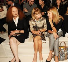 Grace Coddington, Anna Wintour & Virginia Smith