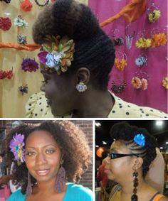 Forget-Me-Not: Hair Clips  One of the best ways to take your hair from a day to night style! http://www.naturallycurly.com/curlreading/hairstyles/forget-me-not/forget-me-not-hair-clips#
