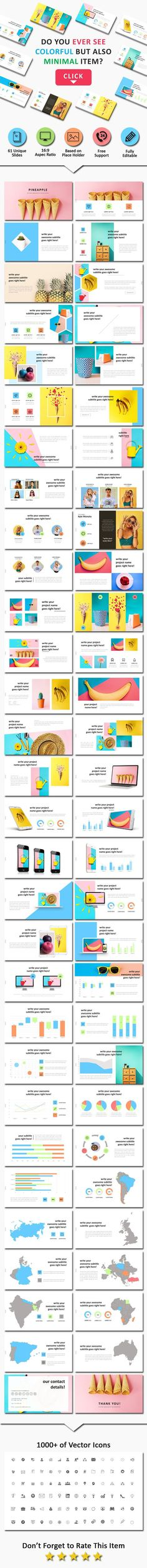 Business infographic : Pineapel Creative Powerpoint Business PowerPoint Templates